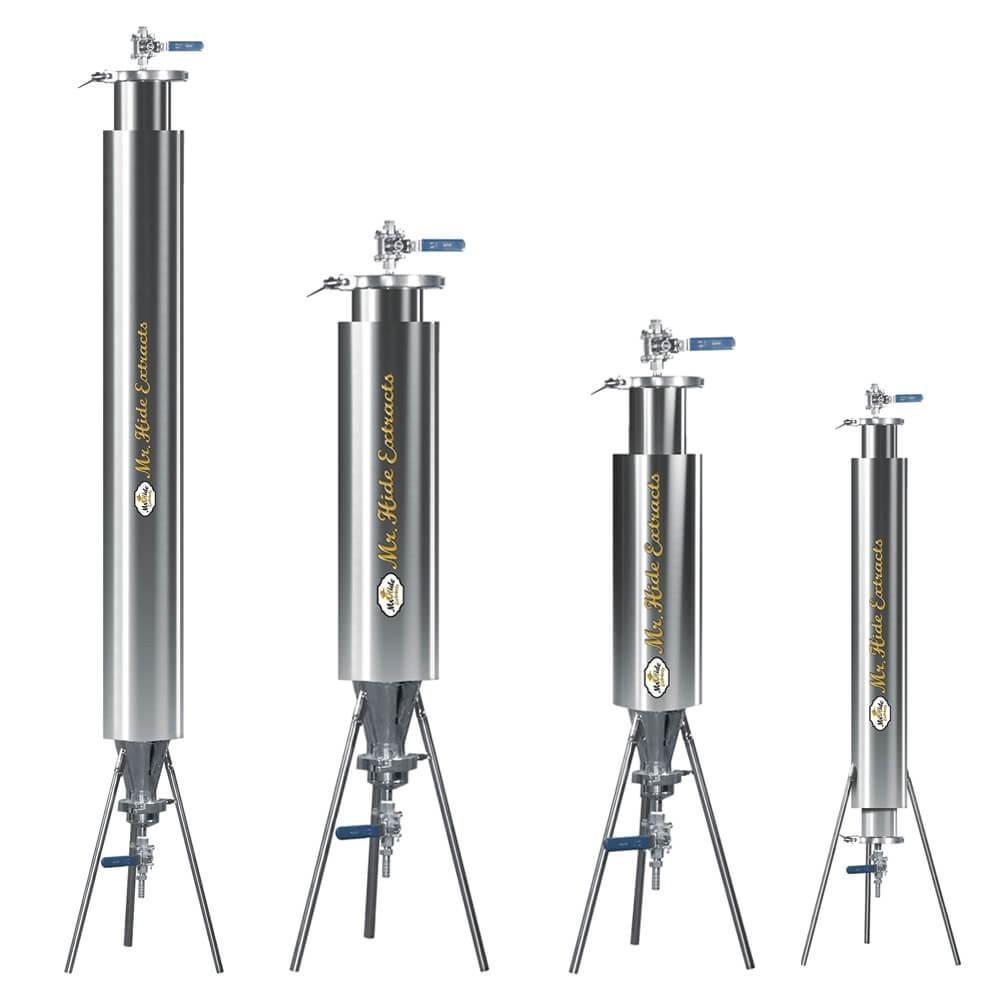 Extractor Semicerrado con Chamber - Extraccion de Resina