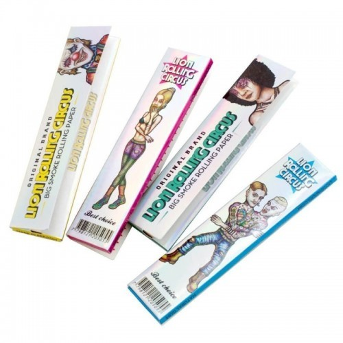 Papel Lion Rolling Circus Silver King Size (50u)