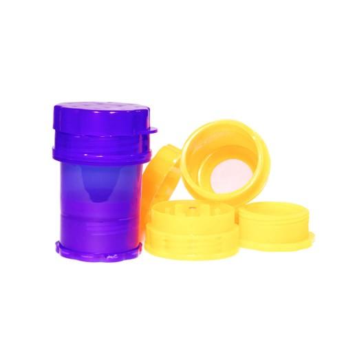 Grinder  Polinizador con Almacenamiento Plástico 50mm