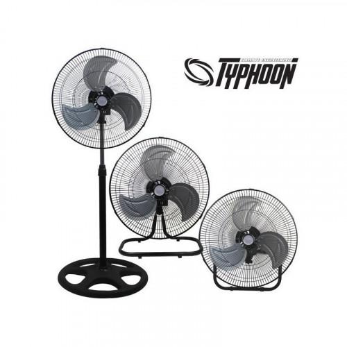 Ventilador Typhoon pie (3x1) 45 cm