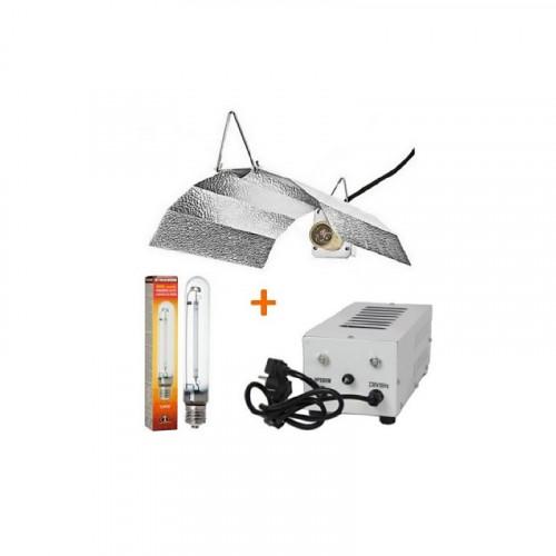 Kit 600W Xtrasun + Reflector Xtrasun Stuco + bombilla Xtrasun Dual