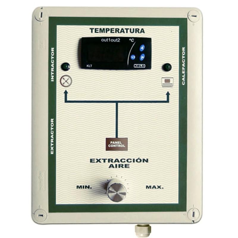 Cuadro Control de Temperatura Novatec