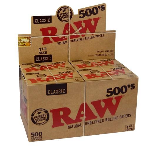 Papel Raw 500 (20 u.)