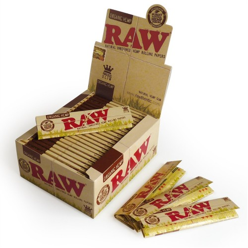 Papel Raw Slim king size (50u)