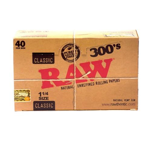 Papel Raw 300 caja (40u.)