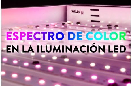 Espectro de color en la iluminación LED